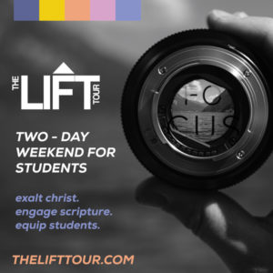 Lift Tour: Student Ministry DNow20 weekend