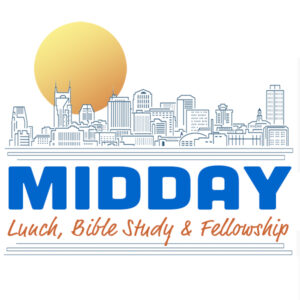 MIDDAY: Lunch, Bible Study & Fellowship